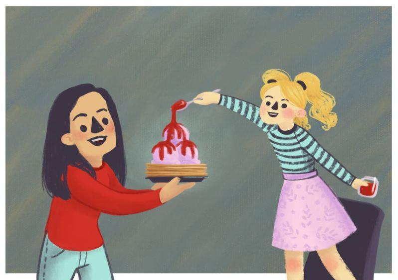 Hallie illustration